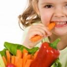Copii mananca legume